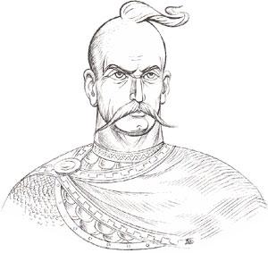 ответить. вооще-то хохол - это похвала.  В древности замечательные люди типа князя Святослава Игоревича и его...